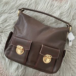 Marc Jacobs Blake Brown Leather